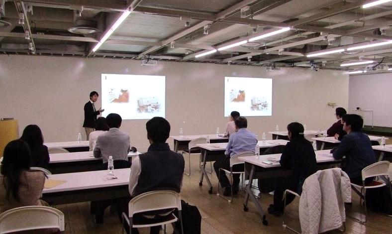 内田洋行様にボランティア説明会の会場をご提供いただきました