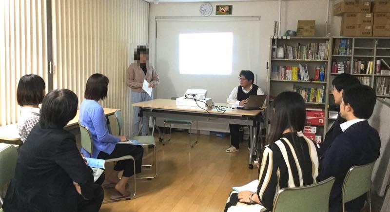 三井住友海上あいおい生命 社員様による、プレゼンテーションの講評を行いました